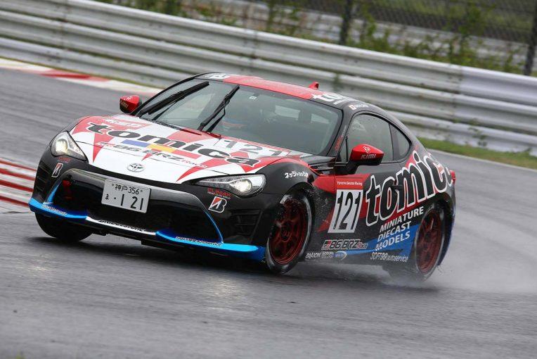 国内レース他 | 86/BRZ第4戦:雨まじりのオートポリスで蒲生尚弥がシリーズ初年度2013年以来の勝利