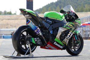 MotoGP | Kawasaki Team GREENのカワサキNinja ZX-10RR 2019年仕様(右リヤ)