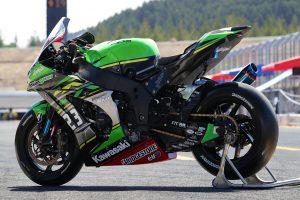 MotoGP | Kawasaki Team GREENのカワサキNinja ZX-10RR 2019年仕様(左リヤ)