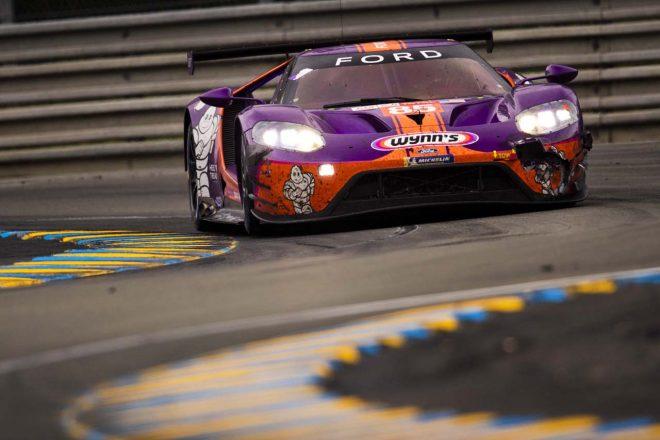 2019年ル・マン24時間のLM-GTE Amクラス優勝を失ったキーティング・モータースポーツの85号車フォードGT
