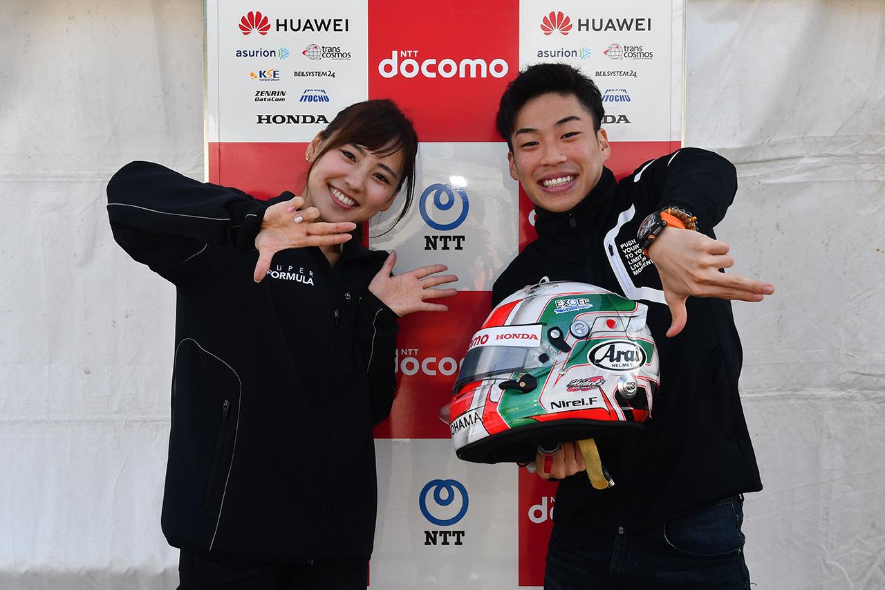 【ヘルメットはドライバーの顔:福住仁嶺】トロロッソ・ホンダのF1ドライバーと一緒に、ヘルメットをデザインしていました!