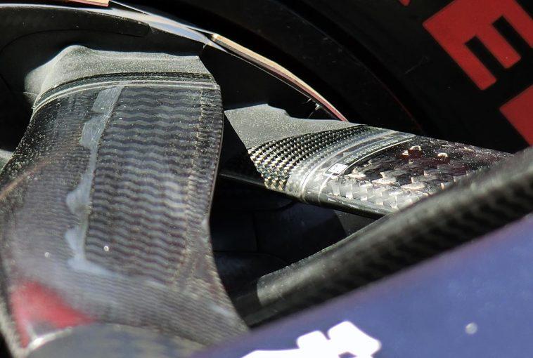F1 | 【津川哲夫の私的F1メカチェック】レッドブル・ホンダRB15の複雑な2段分離型アッパーアーム。真の目的はジオメトリーか、空力効果か