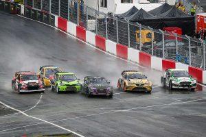 ラリー/WRC | 世界ラリークロス第5戦ノルウェー ファイナルのスタートシーン