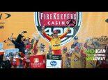 NASCAR第15戦:荒天順延のミシガン戦でフォードのロガーノがキャリア通算23勝目