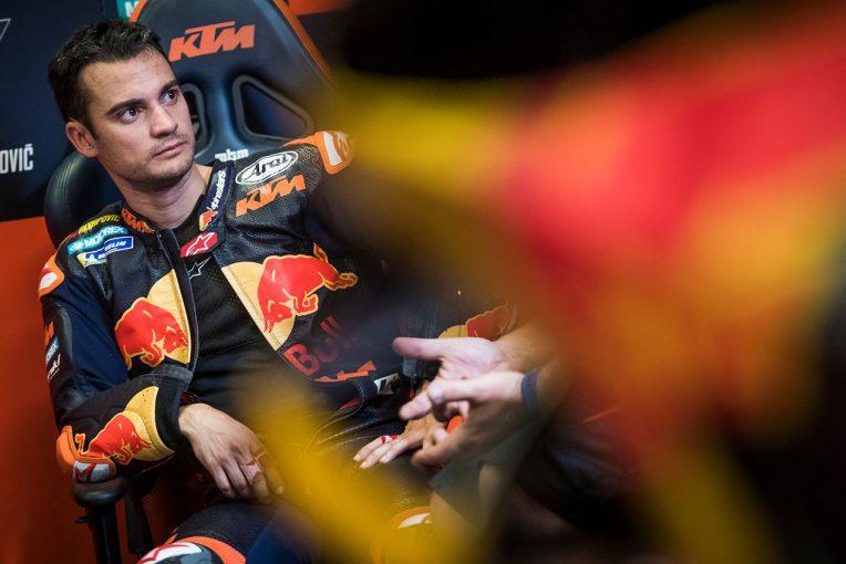 MotoGP | MotoGPカタルーニャテスト:ペドロサがKTMを初走行。中上がホンダの2019年型を走らせる