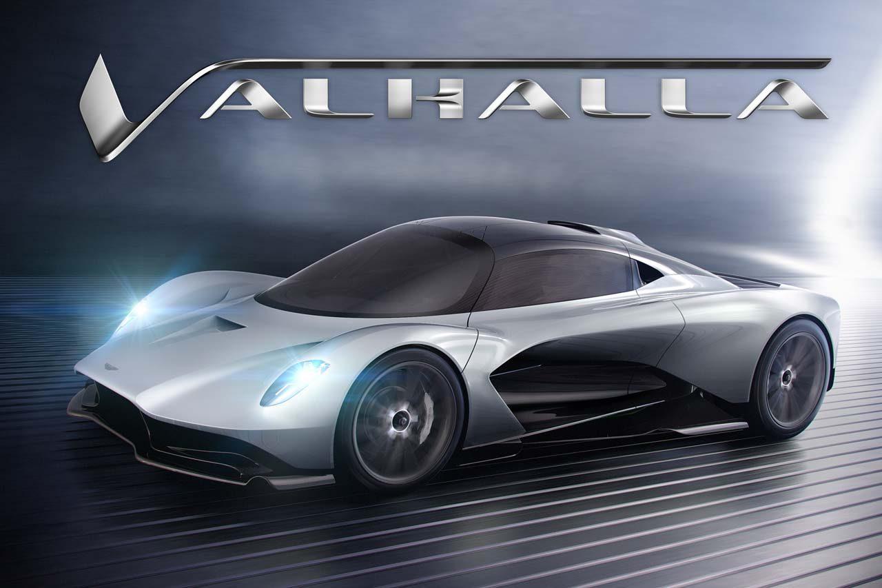 """新車名は『ヴァルハラ』。アストンマーティン、開発中のハイパーカー第3弾も""""V""""の冠継承"""