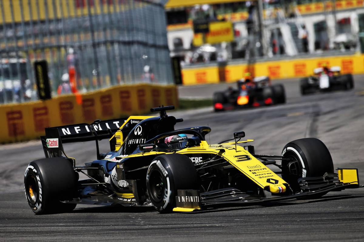 2019年F1第7戦カナダGP ダニエル・リカルド(ルノー)
