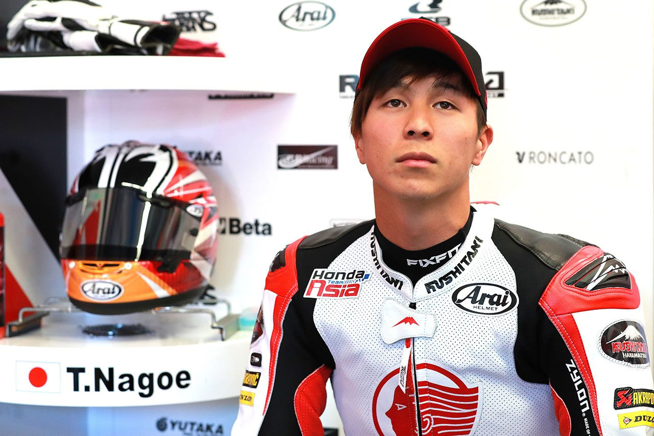 MotoGPイタリアGPのMoto2クラスにスポット参戦した名越哲平