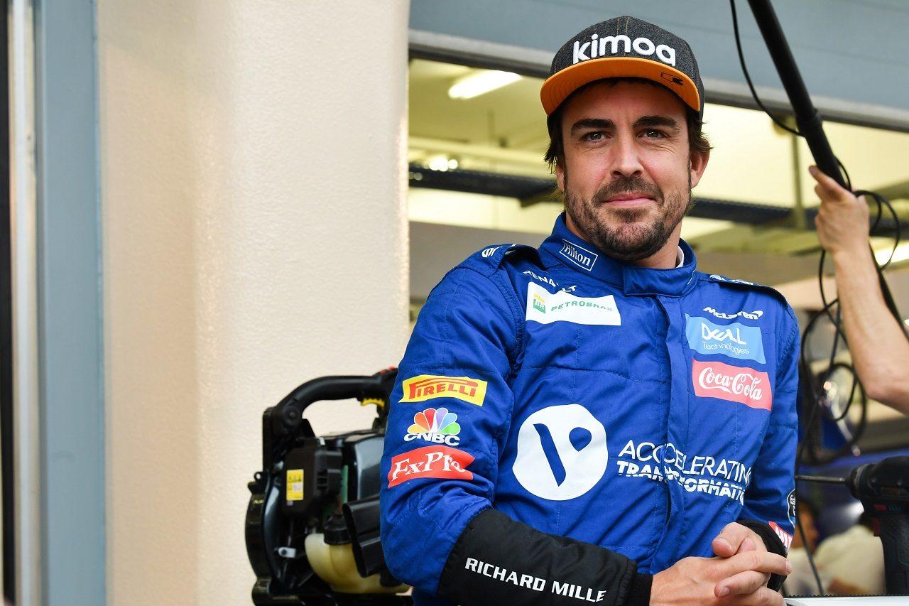 2019年F1バーレーンテストに参加したフェルナンド・アロンソ(マクラーレン)