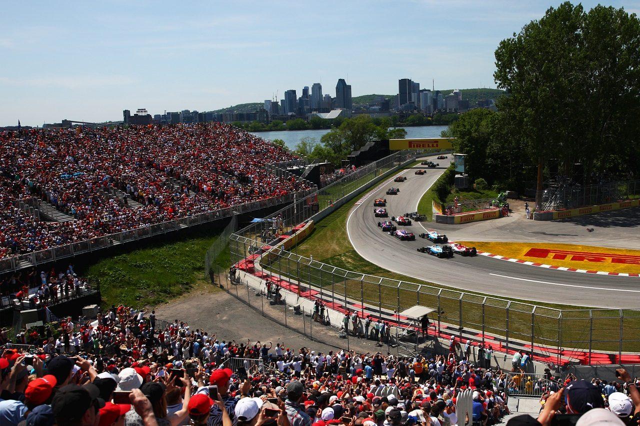 2019年F1カナダGPスタート