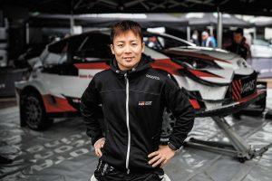 ラリー/WRC | フィンランド国内選手権でトヨタ・ヤリスWRCをドライブしている勝田貴元