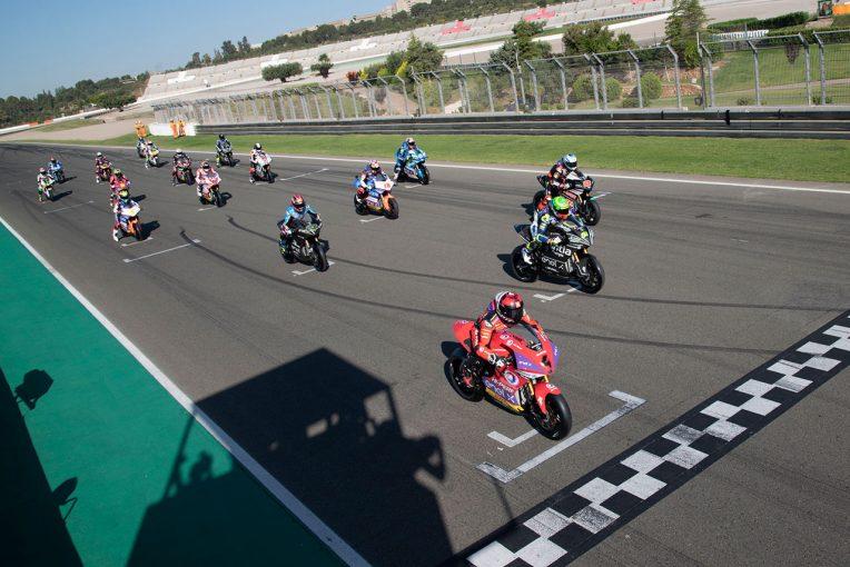 MotoGP | MotoGP:開幕迫る電動バイクレースMotoE。バレンシア最終テストで模擬レースを実施