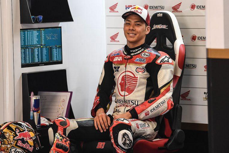 MotoGP | MotoGP:ホンダからの依頼で2019年型マシンをテストした中上「ラップタイムは両方ともよかった」