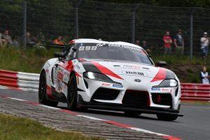 ル・マン/WEC | ニュルブルクリンク24時間開幕。突然の雷雨で赤旗もKONDO RacingのニッサンGT-Rが8番手