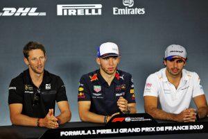 F1 | F1フランスGP木曜会見:昨年は0周リタイアしてしまったガスリー。「母国GPに再び帰ってくることができてうれしい」