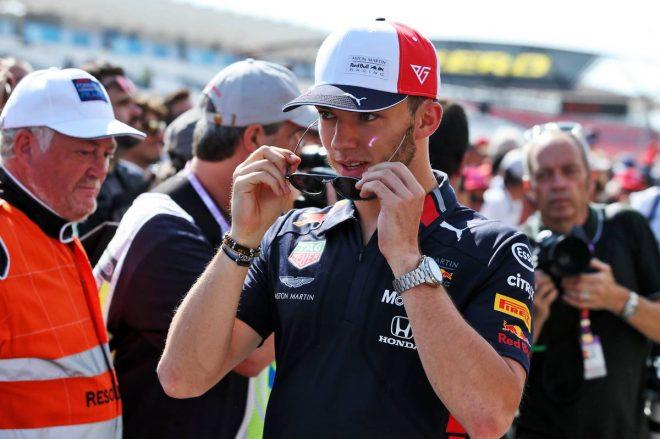 2019年F1第8戦フランスGP ピエール・ガスリー(レッドブル・ホンダ)
