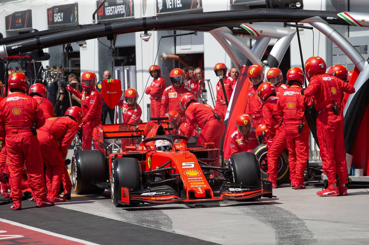 2019年F1第7戦カナダGP セバスチャン・ベッテル(フェラーリ)