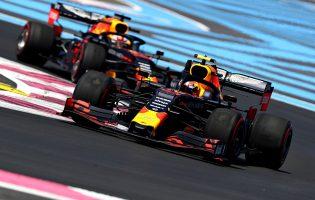 F1 | 2019年F1第8戦フランスGP ピエール・ガスリーとマックス・フェルスタッペン(レッドブル・ホンダ)