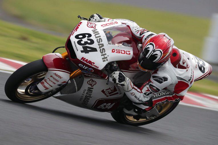 MotoGP | 全日本ロード筑波予選:J-GP2はMoto2経験した名越がダブルポール。ST600は天候に翻弄