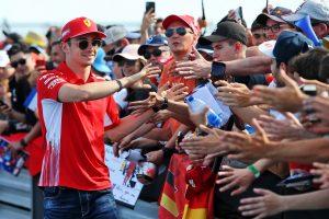 F1 | ルクレール3番手「マシンをベストな状態に持っていかなければ、予選でライバルと戦えない」:フェラーリ F1フランスGP金曜