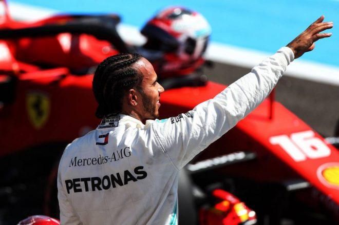 2019年F1第8戦フランスGP予選 ルイス・ハミルトンがポールポジションを獲得