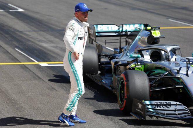 2019年F1第8戦フランスGP予選Q3でミスしてしまったバルテリ・ボッタス