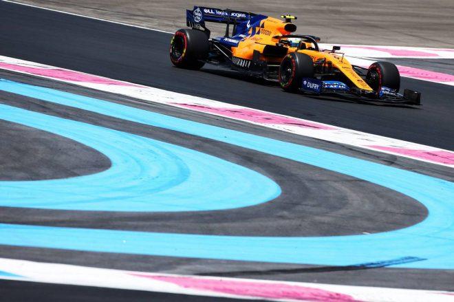 2019年F1第8戦フランスGP ランド・ノリス(マクラーレン)