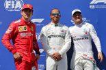 2019年F1第8戦フランスGP予選 PP:ルイス・ハミルトン、2番手:バルテリ・ボッタス、3番手:シャルル・ルクレール