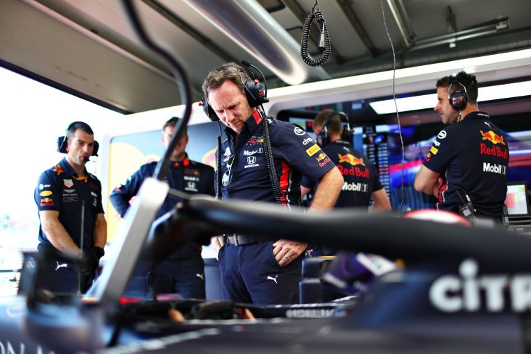F1   レッドブル代表「セカンドロウスタートのマックスに期待。ピエールはターン5と6に課題」:F1フランスGP土曜