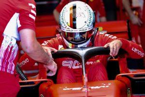 F1 | ベッテル予選7番手「パフォーマンスに波があり、Q3で突然グリップを失った」:フェラーリ F1フランスGP土曜