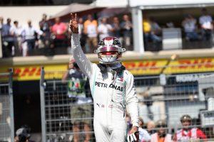 F1 | ハミルトン、今季3回目のポールを獲得「突風がなければあとコンマ数秒縮めることができた」:メルセデス F1フランスGP土曜