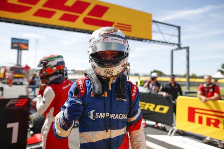 海外レース他 | FIA-F3第2戦フランス レース2:シュワルツマンが逆転優勝、一時はトップ走行していた角田は力尽きる