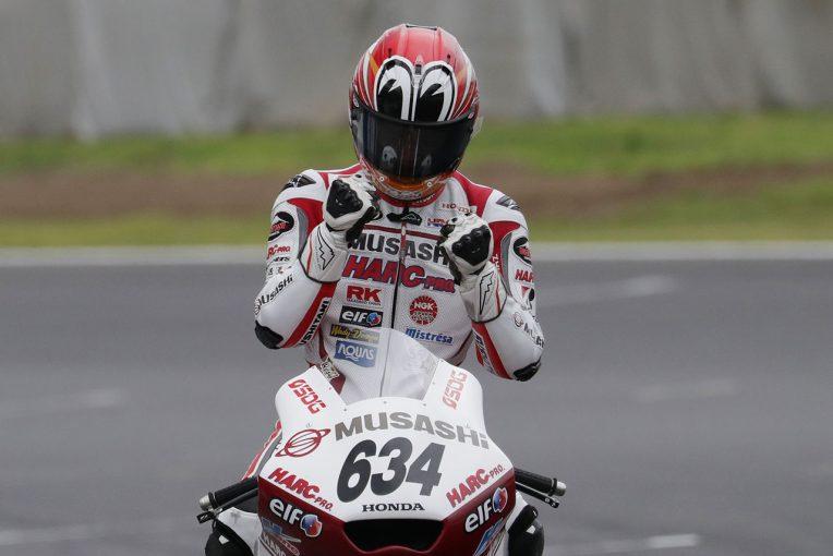 MotoGP | J-GP2は名越が雨混じる難しいコンディション制しポール・トゥ・ウイン/全日本ロード筑波レース2