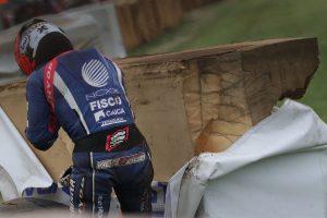 MotoGP | 3番手走行中にダンロップコーナーで転倒を喫した長尾健吾(NCXXRACING&善光会 TEAMけんけん)