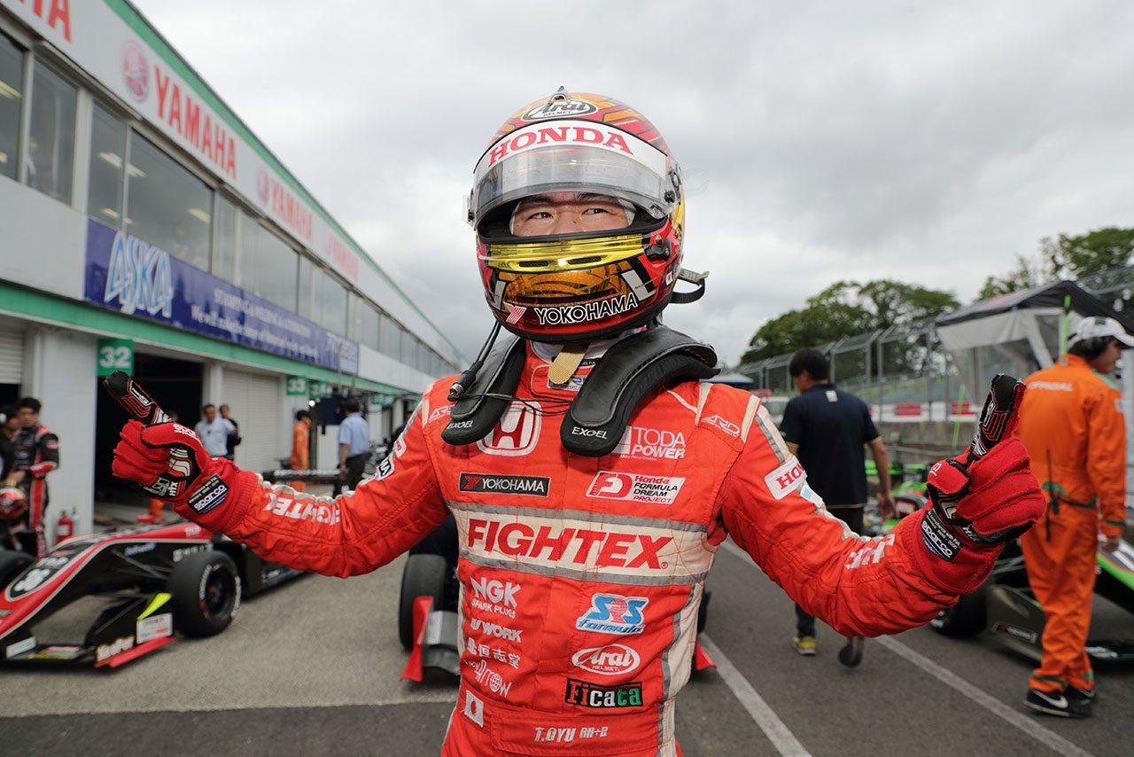 全日本F3選手権第10戦SUGO:スタートダッシュで逆転、大湯がうれしいF3初優勝
