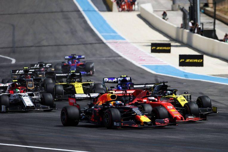 F1 | 7位入賞のリカルドにペナルティ【順位結果】F1第8戦フランスGP決勝