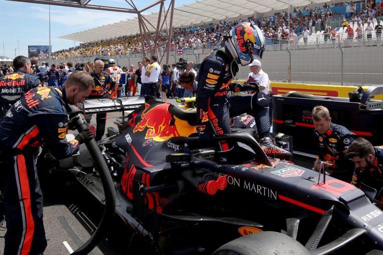 F1 | ガスリー、繰り上がりで10位入賞「ペース不足の原因を突き止めたい。ホンダの進歩はポジティブな要素」:レッドブル F1フランスGP