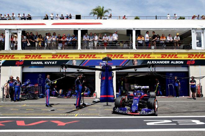 2019年F1第8戦フランスGP アレクサンダー・アルボン(トロロッソ・ホンダ)