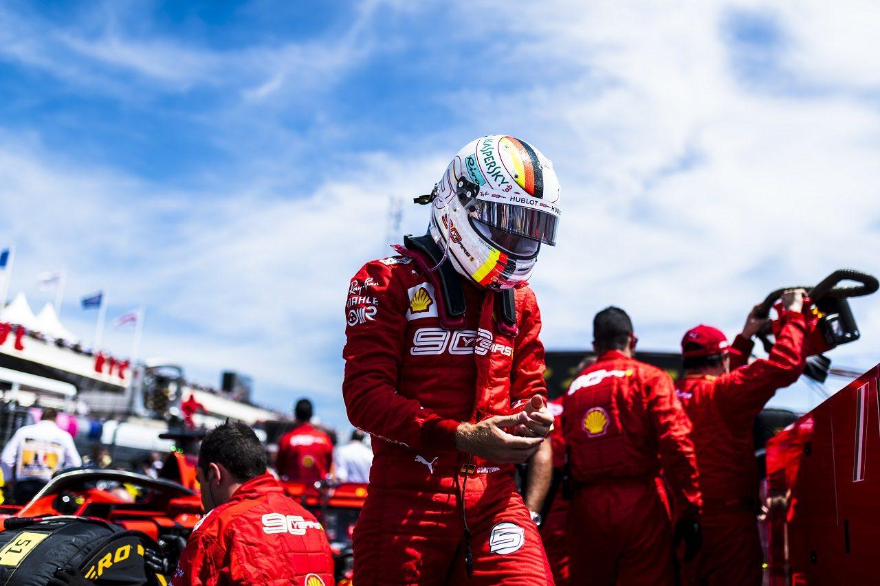 2019年F1第8戦フランスGP セバスチャン・ベッテル(フェラーリ)