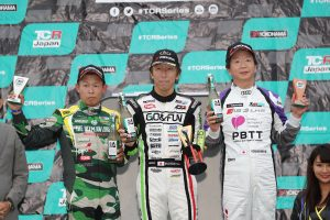 国内レース他 | TCRジャパン第2戦サンデーシリーズ ジェントルマンクラス表彰台