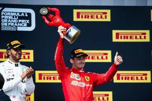 F1 | ルクレール3位「やっとここまできた。今週末は戦略を完璧に決めて車の力を引き出した」:フェラーリ F1フランスGP