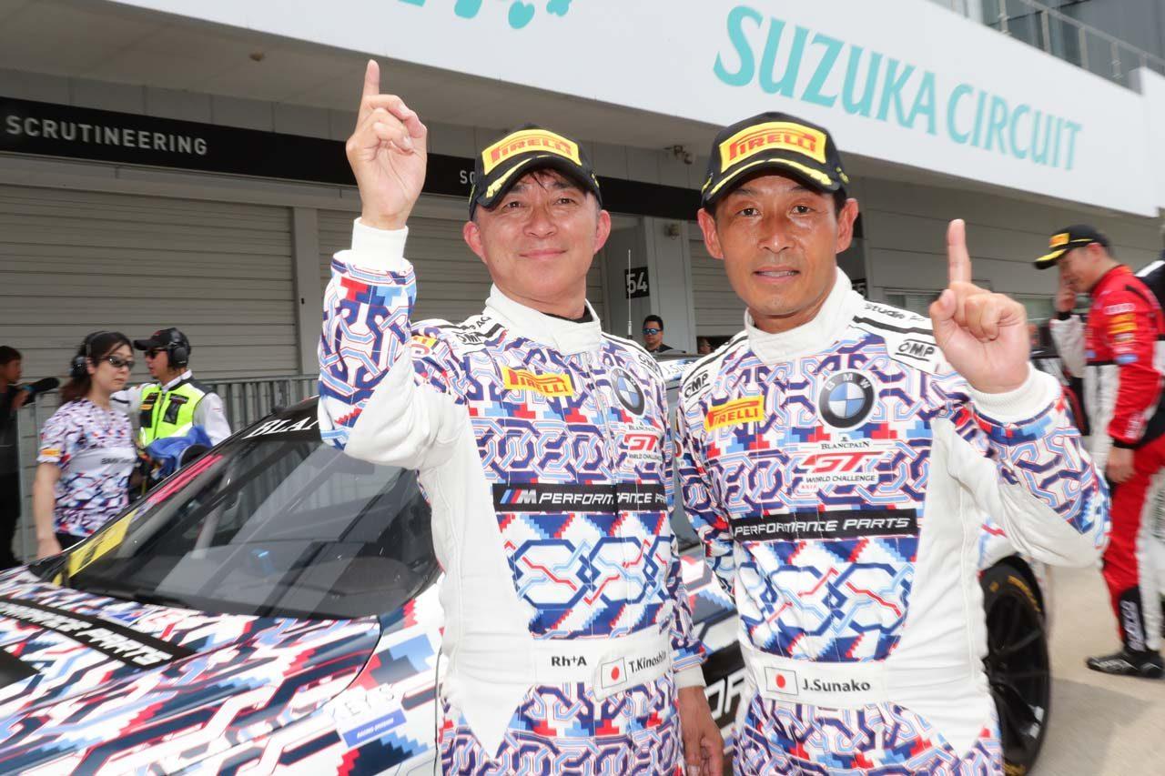 ブランパンGTアジア:ポルシェ勢躍進の第3大会鈴鹿。木下&砂子組BMWが母国ウインで4勝目