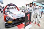 鈴鹿での第6戦で優勝したクラフト・バンブー・レーシングの88号車メルセデスAMG GT3