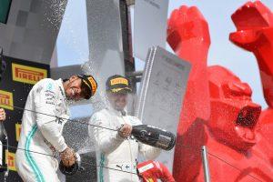 F1 | ハミルトン今季6勝目「楽勝に見えるかもしれないが、全くそんなことはない」:メルセデス F1フランスGP日曜
