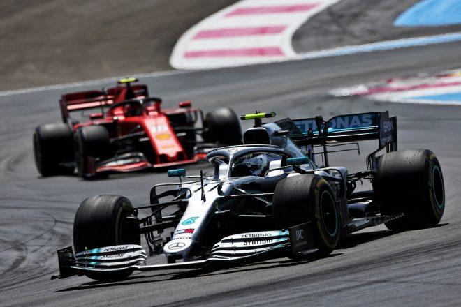 2019年F1第8戦フランスGP バルテリ・ボッタス(メルセデス)