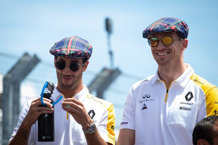 F1 | ヒュルケンベルグ8位「リカルドたちとのバトルはタイトでエキサイティングだった!」:ルノー F1フランスGP日曜
