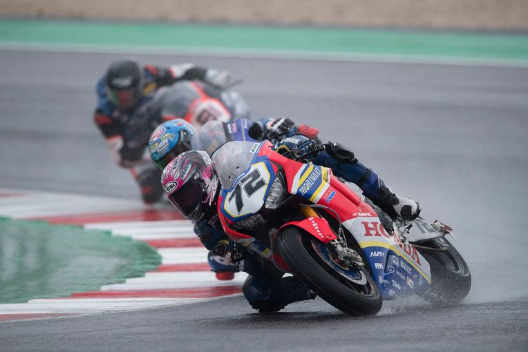 MotoGP | SBK代役参戦のモリワキ高橋裕紀、第7戦レース1でチームベストの8位。雨のレースに向けた「セッティングを準備した」