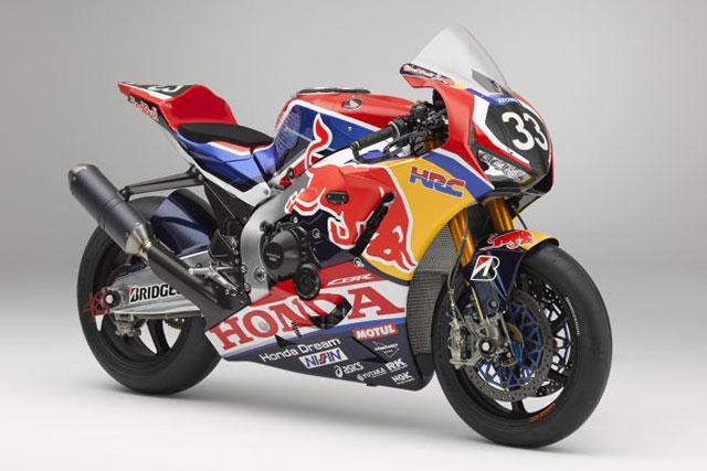 MotoGP | ホンダが2019年の鈴鹿8耐を戦うワークスマシンCBR1000RRWのカラーリングを公開