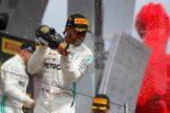 2019年F1第8戦フランスGPで4連勝となったルイス・ハミルトン(メルセデス)