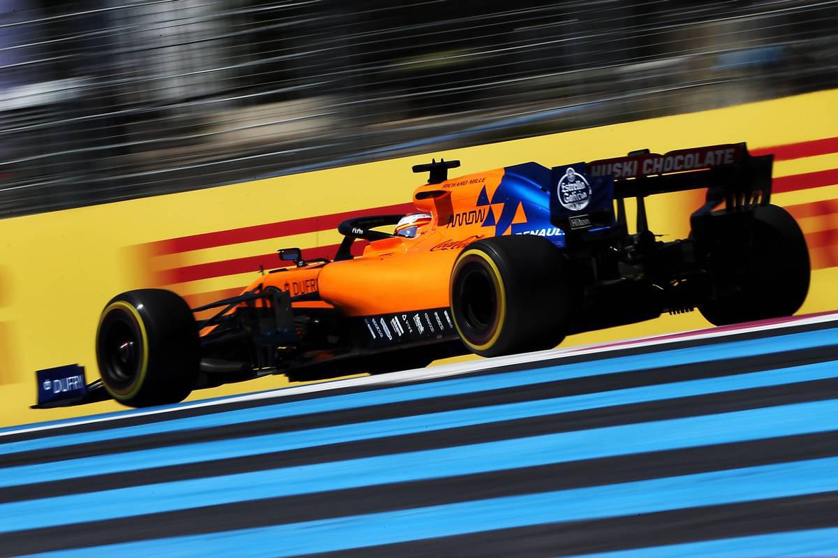 2019年F1第8戦フランスGP カルロス・サインツJr.(ルノー)